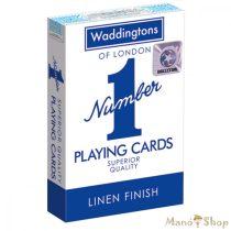 Waddingtons francia kártya - kék