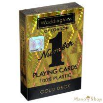 Waddingtons francia kártya - arany