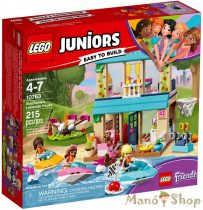 LEGO Juniors Stephanie tóparti háza 10763