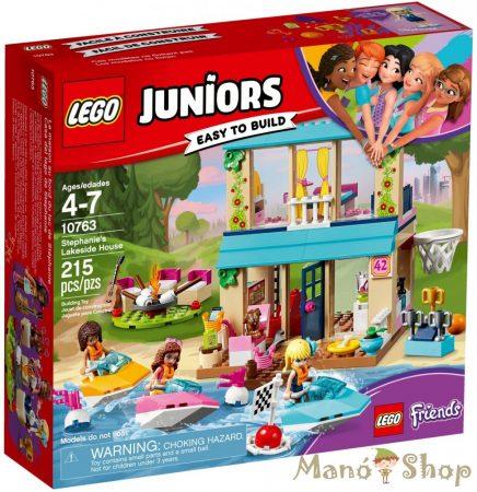 LEGO Juniors Stephanie tóparti háza 10763