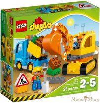 LEGO Duplo Teherautó és lánctalpas exkavátor 10812