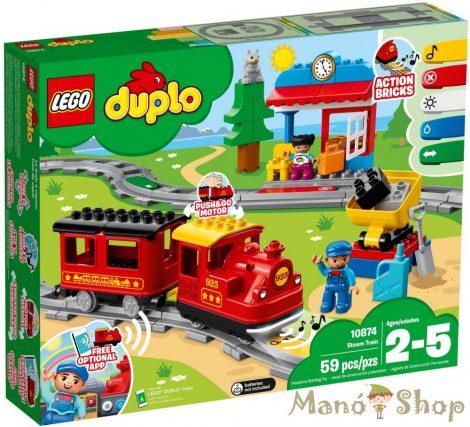 LEGO Duplo Gőzmozdonyos vonat készlet 10874