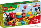 LEGO DUPLO - Disney - Mickey és Minnie születésnapi vonata 10941