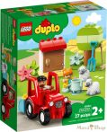 LEGO Duplo - Farm traktor és állatgondozás 10950