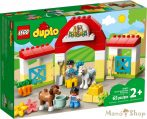 LEGO DUPLO Lóistálló és pónigondozás 10951