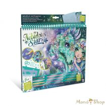 Nebulous Stars Kreatív vázlatfüzet-Fantasy lovak-zöld
