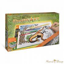 DINOSART - Dínós világító rajzasztal