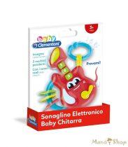 Clementoni Baby - Elektromos gitár csörgő