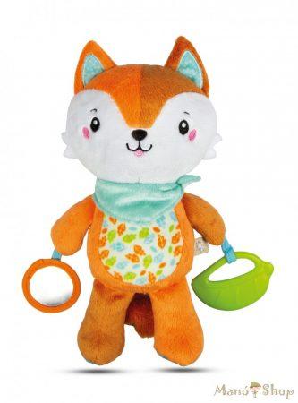 Clementoni Baby - Rezgő Plüss Róka rágókával