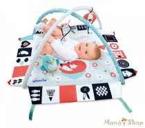 Clementoni Baby - Fekete-Fehér Játszószőnyeg