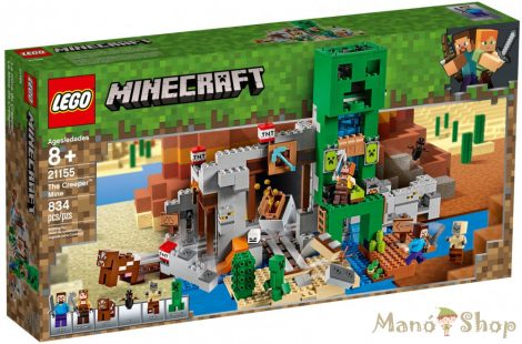 LEGO Minecraft A Creeper™ barlang 21155