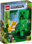 LEGO Minecraft BigFig Creeper™ és Ocelot