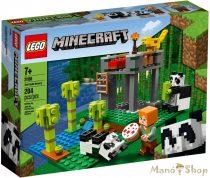 LEGO Minecraft A pandabölcsőde 21158