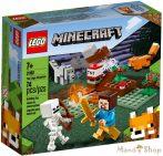 LEGO Minecraft A tajgai kaland 21162