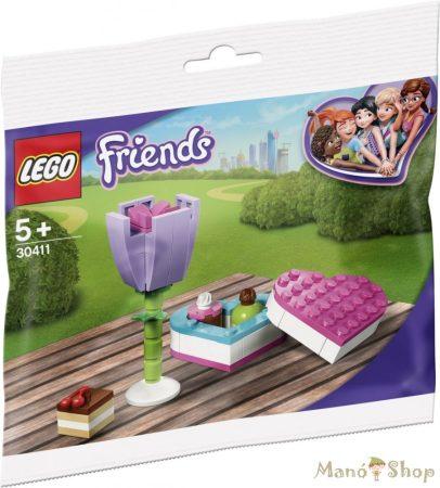 LEGO Friends Csokoládés doboz és virág 30411