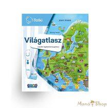 TOLKI Interaktív foglalkoztató könyv - Világatlasz