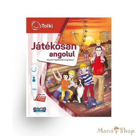 TOLKI Interaktív foglalkoztató könyv - Játékosan Angolul
