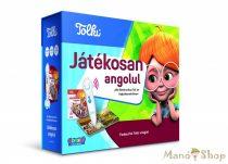 TOLKI Interaktív foglalkoztató könyv - készletben Játékosan Angolul