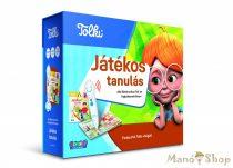 TOLKI Interaktív foglalkoztató könyv - készletben Játékos tanulás