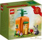 LEGO Exclusive - Húsvéti nyuszi sárgarépaháza 40449
