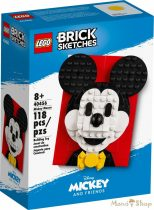 LEGO Brick Sketches - Mickey egér 40456