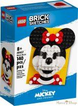 LEGO Brick Sketches - Minnie egér 40457