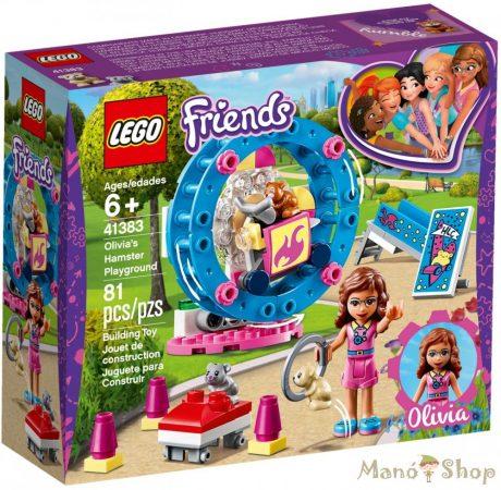 LEGO Friends - Olivia hörcsögjátszótere 41383