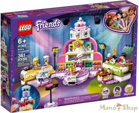 LEGO Friends Cukrász verseny 41393