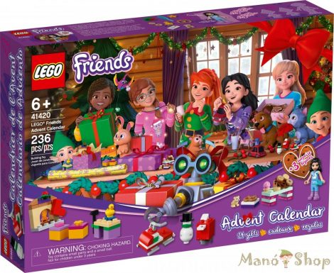 LEGO® Friends Adventi naptár 41420