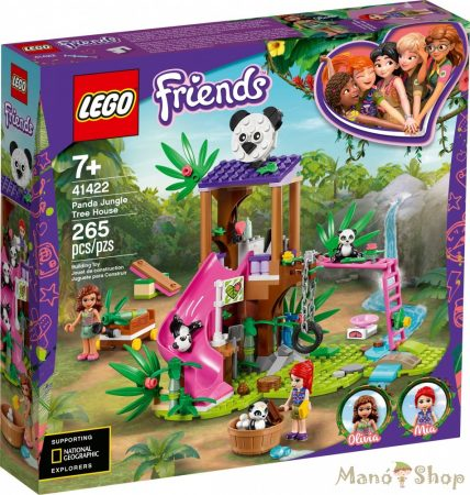 LEGO Friends Panda lombház 41422