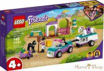LEGO Friends - Lovasiskola és utánfutó 41441