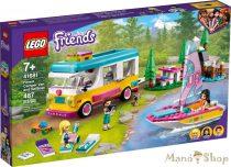 LEGO Friends - Erdei lakóautó és vitorlás 41681