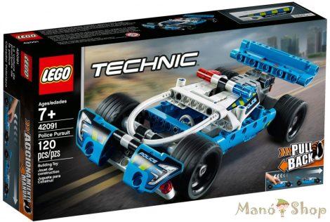 LEGO Technic Rendőrségi üldözés 42091