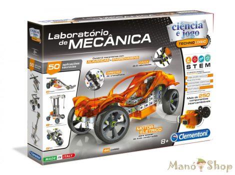 CLEMENTONI Mechanikai labor - Mechanikus műhely játékszett