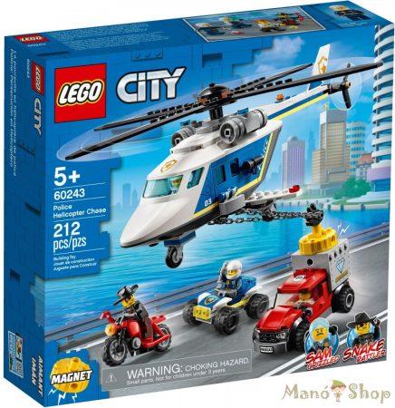 LEGO City Rendőrségi helikopteres üldözés 60243