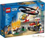 LEGO City - Sürgősségi tűzoltó helikopter 60248
