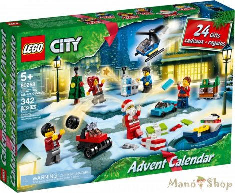 LEGO City Adventi naptár 60268