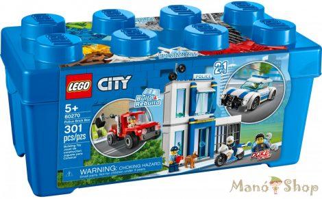 LEGO City Rendőrségi elemtartó doboz 60270