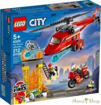 LEGO City - Tűzoltó mentőhelikopter 60281