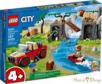 LEGO City - Vadvilági mentő terepjáró 60301