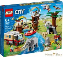 LEGO City - Vadvilági mentőtábor 60307