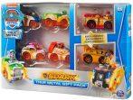 Mancs Őrjárat - Spark - Fém kisautók 6 darabos ajándék csomag