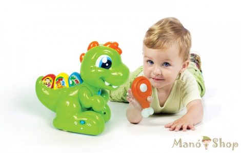 Clementoni Baby T-Rex Dínó készségfejlesztő játék