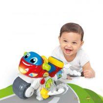 Clementoni Baby - zenélő interaktív motorkerékpár
