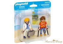 Playmobil Orvos és beteg 70079