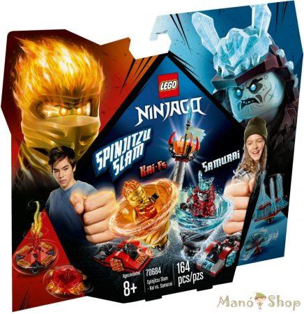 LEGO Ninjago - Spinjitzu Csapás - Kai vs. Samurai 70684