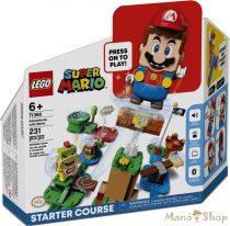 LEGO SUPER MARIO - Mario kalandjai kezdőpálya 71360