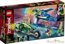 LEGO Ninjago Jay és Lloyd versenyjárművei 71709