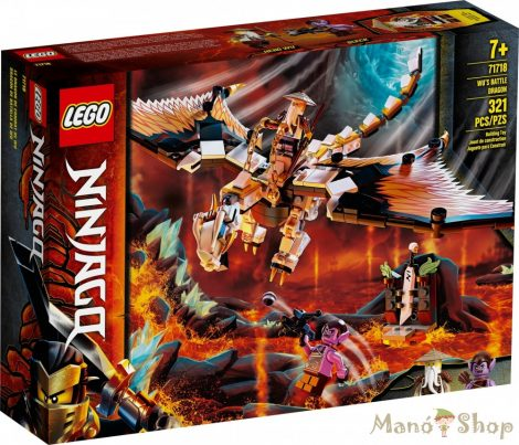 LEGO Ninjago Wu harci sárkánya 71718