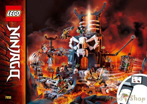 LEGO Ninjago - A koponyavarázsló tömlöcei 71722